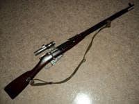 Фото снайперской винтовки Мосина