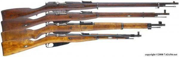 4 варианта винтовки Мосина