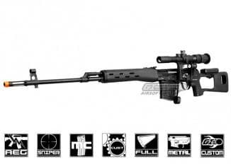 King Arms Dragunov SVD Rifle AEG