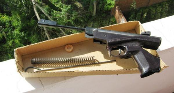 Пистолет ИЖ 53М в комплекте