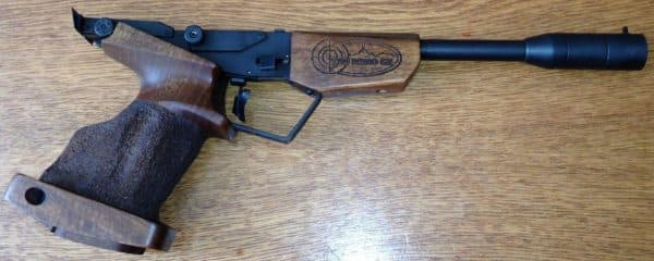 Пистолет с предварительной накачкой