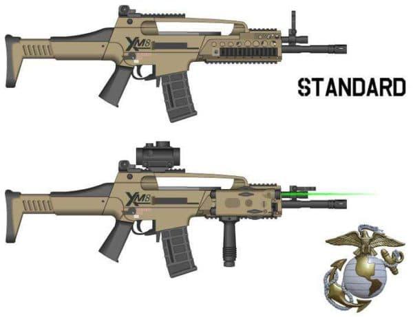 Технические характеристики винтовки g36