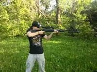 Видео охоты с пневматикой Хатсан 125
