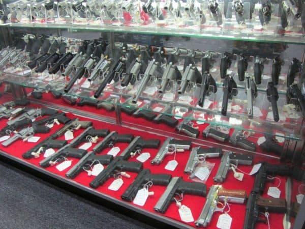 Магазин по продаже пистолетов