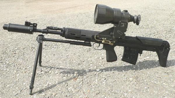 Образец винтовки для КГБ