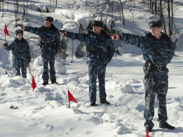 Проведение учебных стрельб