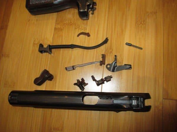Ремонт пистолета Стечкина