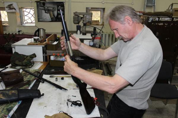 Ремонт пневматической винтовки
