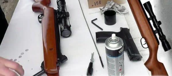 Разборка и чистка винтовки Хатсан