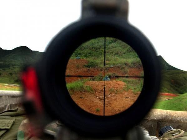 Прицеливание при стрельбе