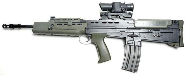 Стандартная комплектация винтовки