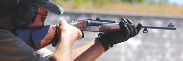 Стрелок с большой винтовкой