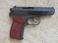 Пневматический пистолет Макарова мр 654к baikal