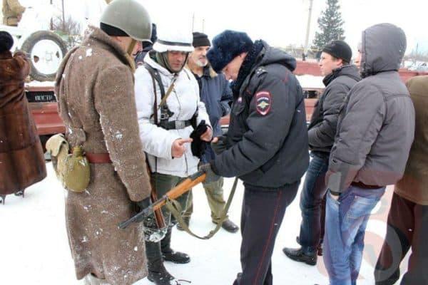 Проверка оружия перед использованием