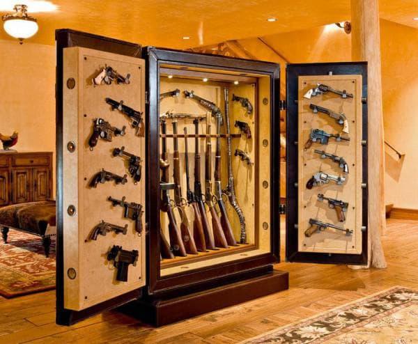 Хранение оружия дома