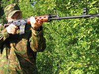 Пневматическая снайперская винтовка свд