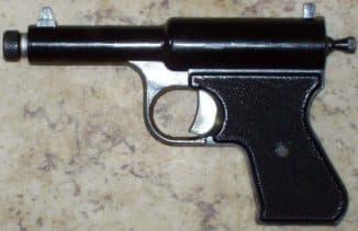 Пружинно-поршневой пистолет