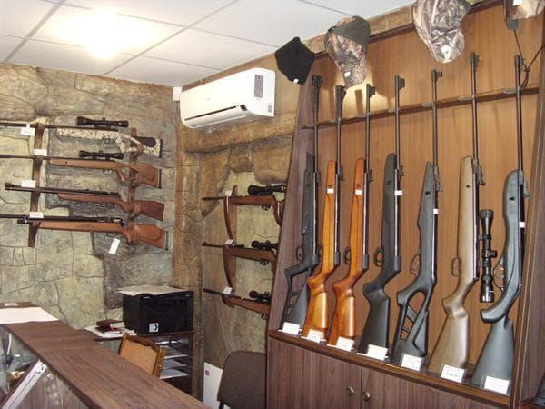 Магазин по продаже пневматических винтовок