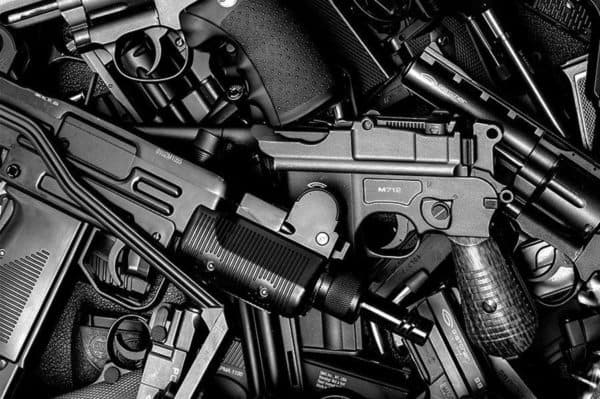 Ассортимент пневматических пистолетов