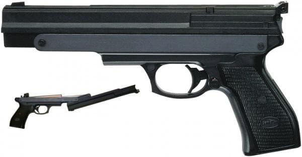 Пневматический пистолет малой мощности