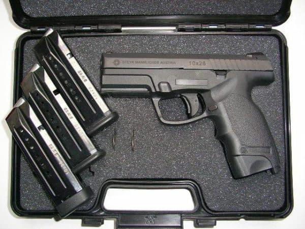 Стандартный комплект пистолета