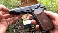 Видео пневматического пистолета Макарова мр 654к