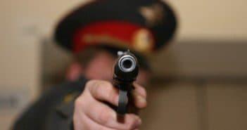 Использование оружия сотрудником полиции