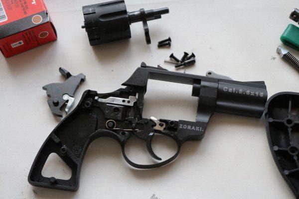 Разборка пистолета Zoraki LOM-S