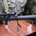 Сверхточная снайперская винтовка «Выхлоп»