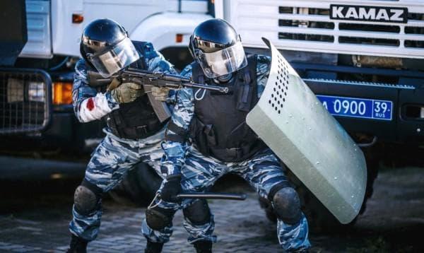 Применение оружия полицейскими
