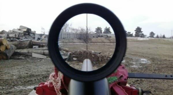 Как правильно пристрелять оптический прицел на пневматике: настройка на видео